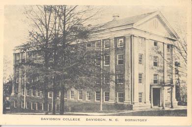 Davidson College, Davidson, N.C. Dormitory<br />