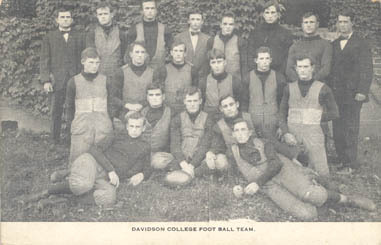 Davidson College Foot Ball Team<br />