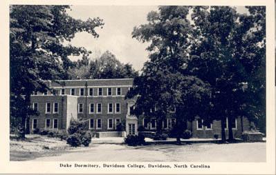 Duke Dormitory, Davidson College, Davidson, North Carolina<br />