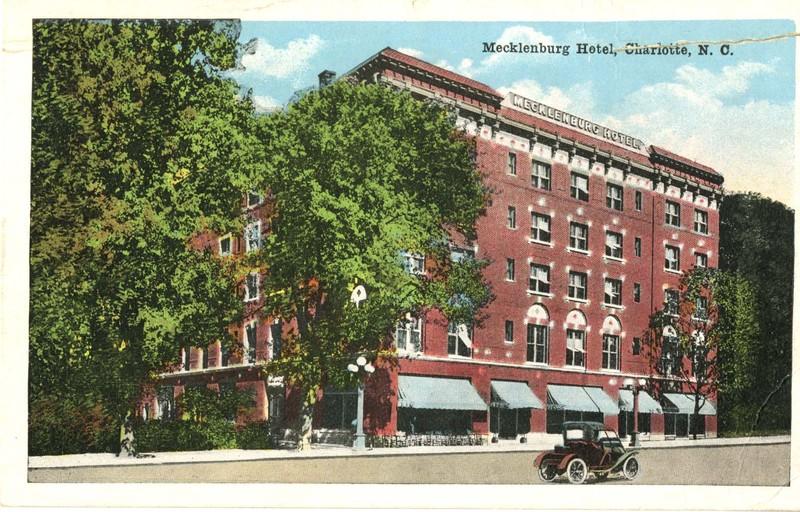 Mecklenburg Hotel, Charlotte, N. C.
