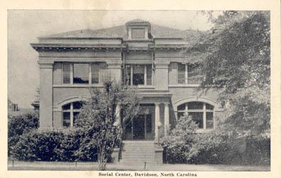 Social Center, Davidson, N. C.<br />