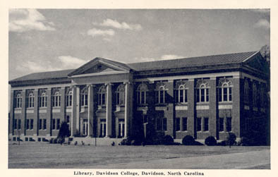 Library, Davidson College, Davidson, North Carolina<br />