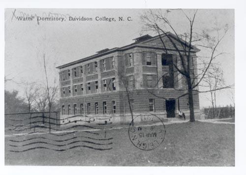 Watt's Dormitory, Davidson College, N.C.<br />