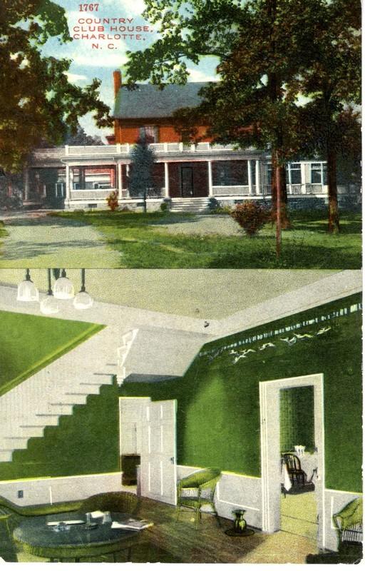 1767 Country Club House. Charlotte, N. C.