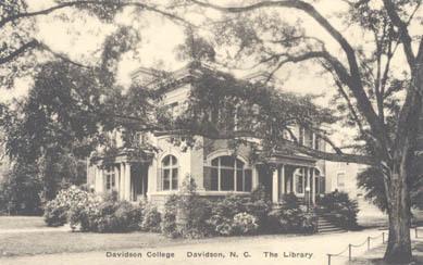 Davidson College; Davidson, N.C.; The Library<br />
