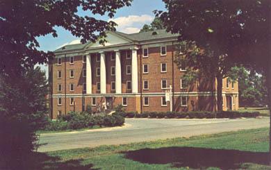 Richardson Hall, Davidson College, Davidson, N. C.<br />