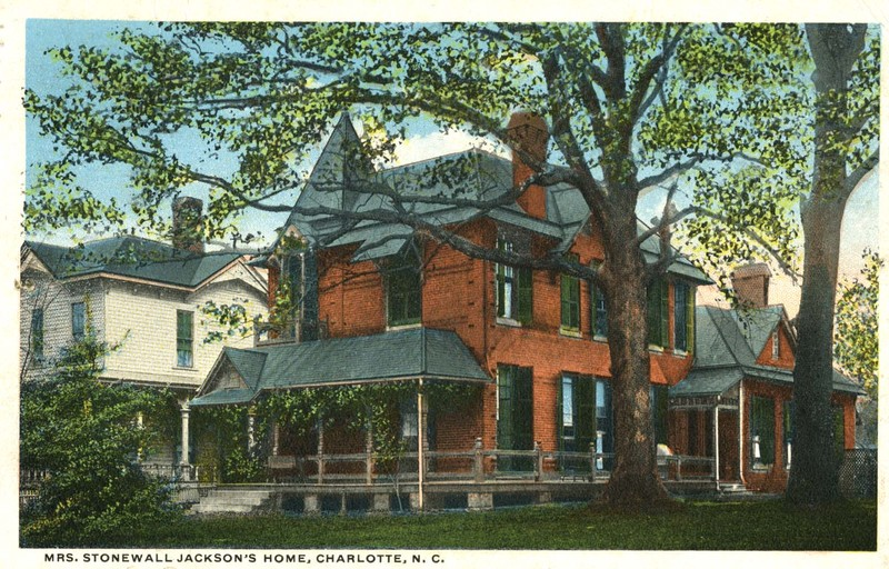 Mrs. Stonewall Jackson's Home, Charlotte, N.C.