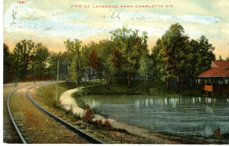 View of Lakewood Park Charlotte N.C.
