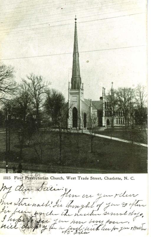 First Presbyterian Church, West Trade Street, Charlotte, N. C.