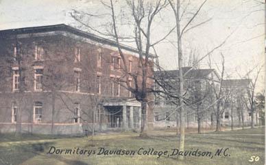 Dormitories, Davidson College, Davidson, N. C.<br />