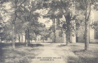 Campus View, Davidson College, Davidson, N. C.<br />