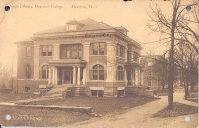 Carnegie Library, Davidson College, Davidson, N. C.<br />