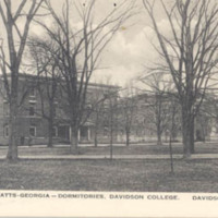 Rumple-Watts-Georgia - Dormitories, Davidson College. Davidson, N.C.<br />