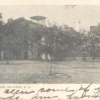 Davidson College, Davidson, N. C.&lt;br /&gt;<br />