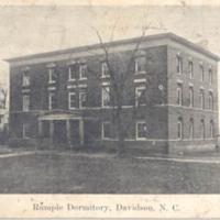 Rumple Dormitory, Davidson, N.C.&lt;br /&gt;<br />