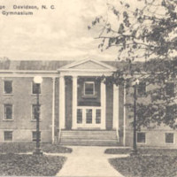 Davidson College Davidson, N.C. Alumni Gymnasium<br />