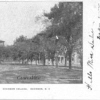 Davidson College, Davidson, N.C.&lt;br /&gt;<br />