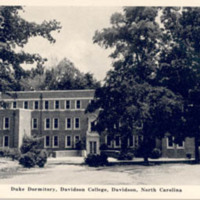 Duke Dormitory, Davidson College, Davidson, North Carolina<br />