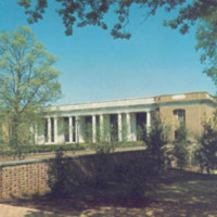 Davidson College, E. H. Little Library and Richardson Plaza, Davidson N. C.<br />