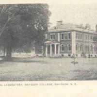 Martin Chemical Laboratory, Davidson College, Davidson, N. C.&lt;br /&gt;<br />