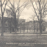 Dormitories of Davidson College, Davidson, N. C.&lt;br /&gt;<br />