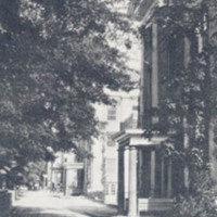 Dormitory Row, Davidson College, Davidson, North Carolina<br />