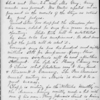 Minutes 22 November 1901