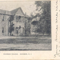 Morrison Memorial Hall, Y.M.C.A. and Gymnasium, Davidson College, Davidson, N. C.<br />