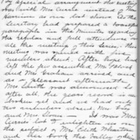 Minutes 13 February 1903