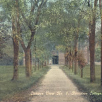 Campus View No. 1, Davidson College, Davidson, N. C.<br /><br />