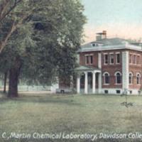 Davidson, N. C., Martin Chemical Laboratory, Davidson College.&lt;br /&gt;<br />