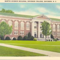 Martin Science Building, Davidson College, Davidson, N.C.&lt;br /&gt;<br />