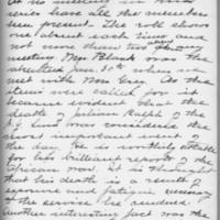 Minutes 30 January 1903