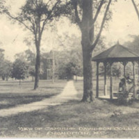 View on Campus, Davidson College, Davidson, N. C.<br /><br />