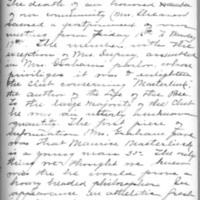 Minutes 19 January 1903