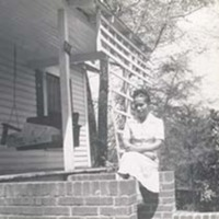 Ada Jenkins at home